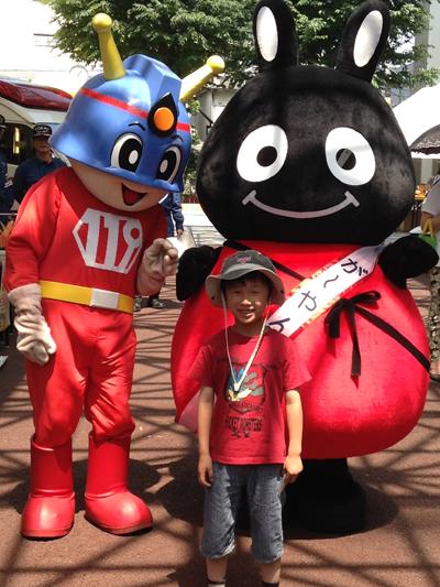 世田谷区商店街キャラクターがーやんやピーポくん、消太くんもやってきます!